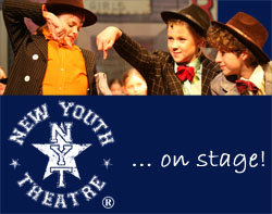 New Youth Theatre and Dance School Grantham logo