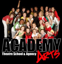 Academy Arts Theatre Dance and Drama School and Agency Epping logo