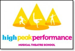 High Peak Performance Dancing and Drama School - Altrincham near Hale and Sale Trafford logo