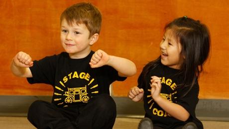 Children at Stagecoach