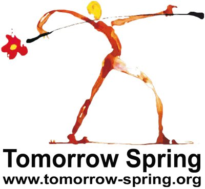 "Russian Theatre School ""Tomorrow Spring"" logo"