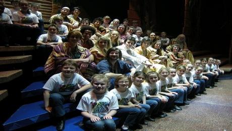 Truro Theatre School Kids in Joseph Production