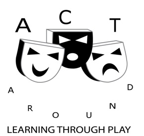 Performing Arts, Classes, Role Play and Confidence Building- Learn Through Play with Act Around in Luton, Bedfordshire logo