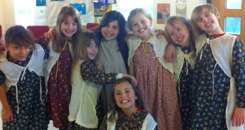 Children perform at Stageability