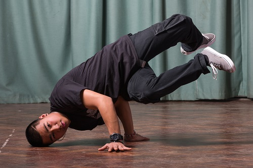 Break Dancing in Camden and Crouch End