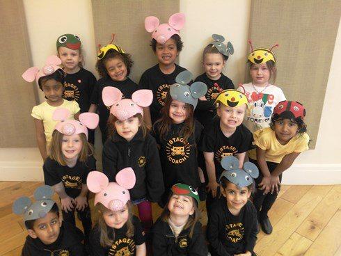 Children's drama classes Bury