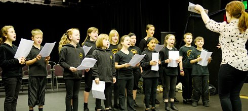 Singing, DRama and dance classes at the drama school in Bury