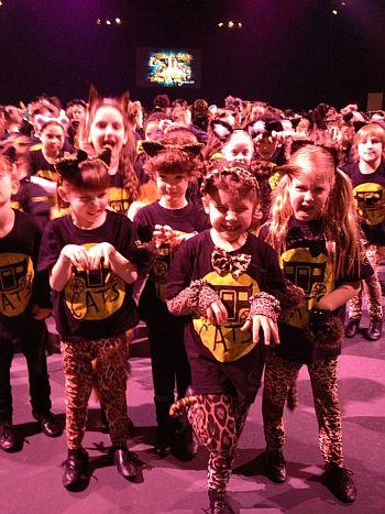 Drama school in Bristol Keysham perform Cats