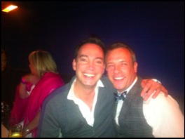 Craig Revel Horwood and John Tobias