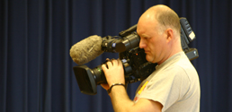 In front and behind the camera at PQA York