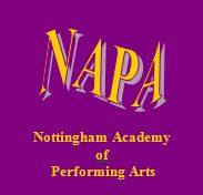NAPA Nottingham Academy of Performing Arts and Dance Nottingham logo