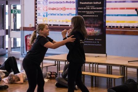 Improvisation, drama, singing and dance in Solihull