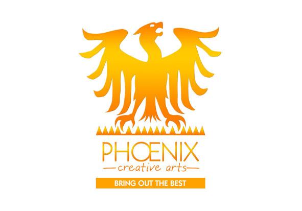 Phoenix Creative Arts Dorking and Horsham logo