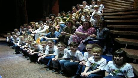 Penzance Stage School Kids in Joseph