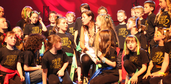 Performing Arts and Dance classes Stage Two in Shrewsbury