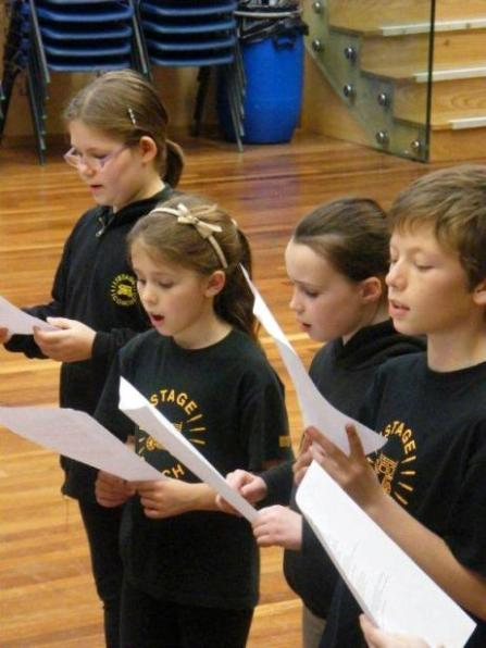 Singing Class at Stagecoach Worthing
