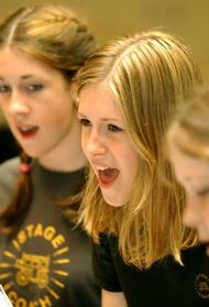 Stagecoach singing class