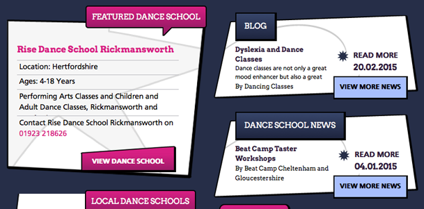 Featured Dance School