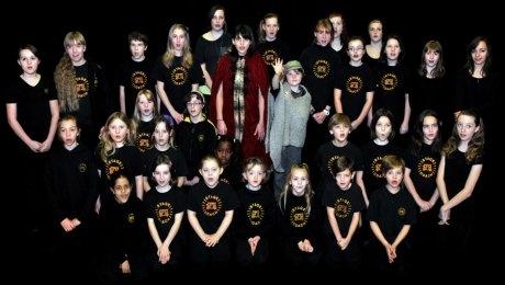 Truro Stage School Kids Singing