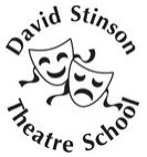 David Stinson Dancing, Singing and Drama Theatre School Hackney London E9 logo