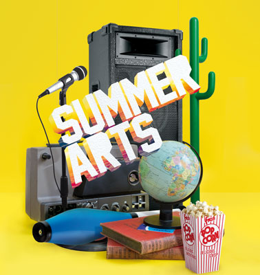Summer Arts, Lewisham logo