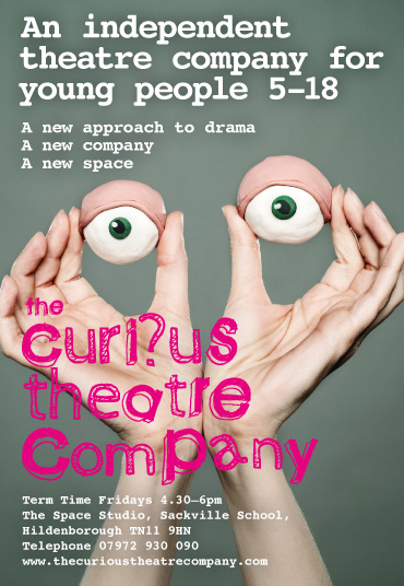 The Curious Theatre Company logo
