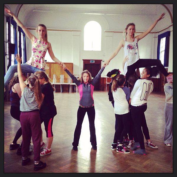 Team work at Theatretrain Loughton