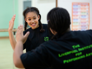 Dance Class at Wanstead School LIPA