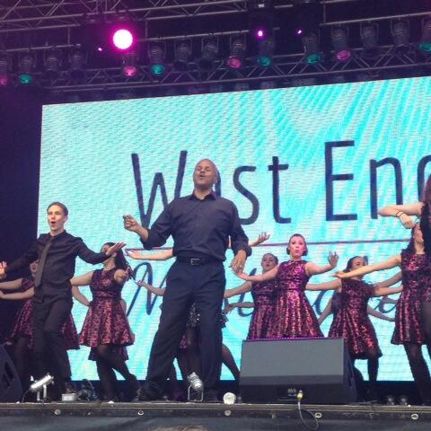 Musical Theatre Students perform in the West End