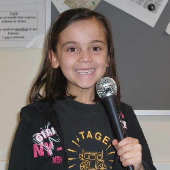 Girl at Stagecoach Wetherby  Singing class