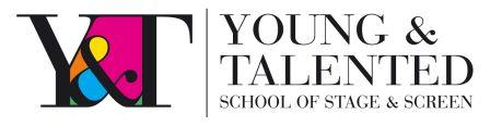 Young and Talented Theatre School  in London Bethnal Green, Bow E2 E3 logo